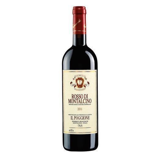 Rosso di Montalcino 2016, Tenuta Il Poggione, Toskana, Italien - In einigen Jahren wird der Wein von diesen Reben deutlich mehr als das Doppelte kosten.
