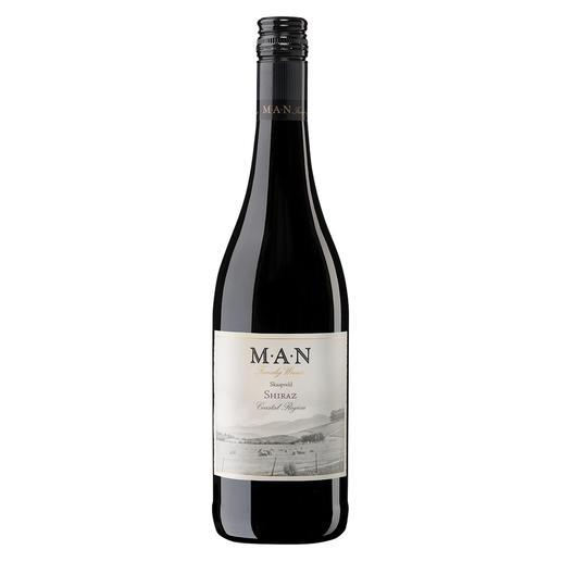 Skaapveld Shiraz 2017, MAN Family Wines, Stellenbosch, Südafrika - Einen besseren Shiraz unter 7 € haben wir nicht gefunden.