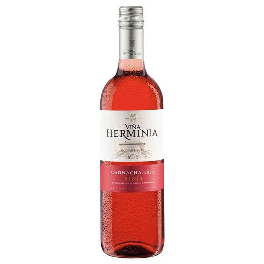 Viña Herminia Rosado 2018, Rioja, Spanien - Der neue Typ Rosé-Wein.