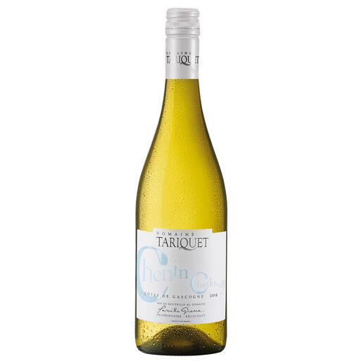 """Chenin-Chardonnay 2018, Côtes de Gascogne, Frankreich """"Der beste Weißwein aus Frankreich."""" (Von mehr als 50 französichen Weißweinen, Mundus Vini Frühjahrsverkostung 2014, www.mundusvini.com über den jahrgang 2013)"""