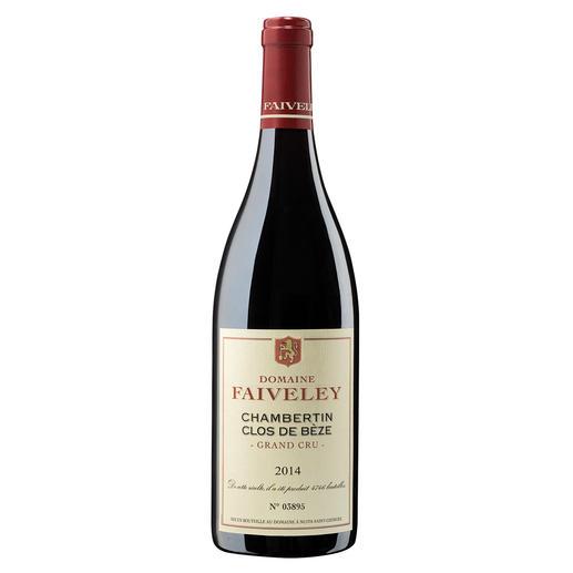 Chambertin Clos de Bèze Grand Cru 2014, Domaine Faiveley, Burgund, Frankreich - Le Chambertin. Der Lieblingswein von Kaiser Napoléon.