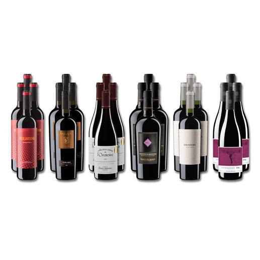 """Weinsammlung """"Die kleine Rotwein-Sammlung Herbst 2019"""", 24 Flaschen - Wenn Sie einen kleinen, gut gewählten Weinvorrat anlegen möchten, ist dies jetzt besonders leicht."""