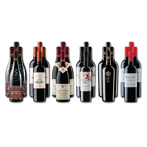 """Weinsammlung """"Die kleine Rotwein-Sammlung für anspruchsvolle Genießer Herbst 2019"""", 24 Flaschen - Wenn Sie einen kleinen, gut gewählten Weinvorrat anlegen möchten, ist dies jetzt besonders leicht."""