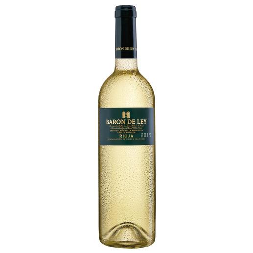 Rioja Blanco 2018, Baron de Ley, Rioja, Spanien - Der weiße Rioja: kaum bekannt. Und daher (noch) erfreulich günstig.
