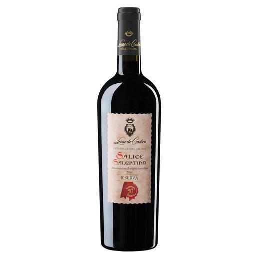 Riserva Castris 2016, Leone de Castris, Salice Salentino, Apulien, Italien Der beste Rotwein Italiens. Unter 640 (!) Konkurrenten. (Mundus Vini, Sommerverkostung 2016 über den Jahrgang 2014, www.mundusvini.com)