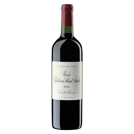 Vieux Château Saint André 2016, Montagne Saint-Emilion, Bordeaux, Frankreich Der bezahlbare Bordeaux mit dem Know-how von Château Petrus.  Vom Weinmacher des Jahres 2018. (www.thedrinksbusiness.com, 19.03.2018)