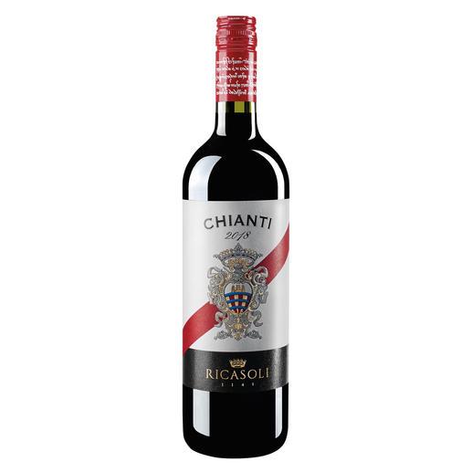 Chianti del Barone Ricasoli 2018, Toskana, Italien - Ein Glück, dass dieser Chianti nicht Classico heißen darf.