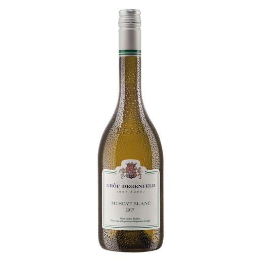 Tokaj Muscat Blanc 2017, Gróf Degenfeld Wine Estate, Tokaj, Ungarn Weltberühmt für seine edelsüßen Weine. Doch der Geheimtipp ist dieser Tokaj Muscat Blanc.