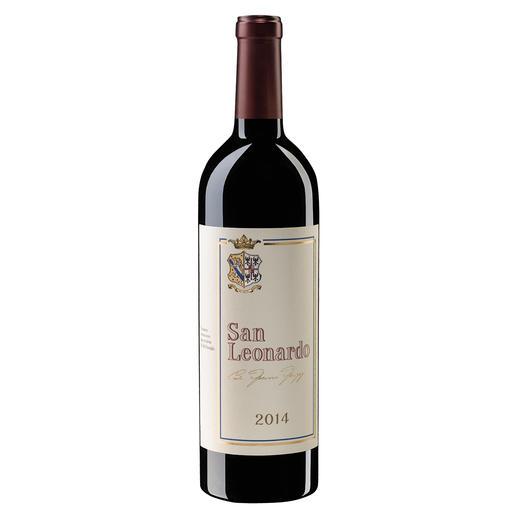 San Leonardo 2014, Tenuta San Leonardo, Trentino, Italien - Sieben (!) Mal die Höchstbewertung. (Civiltadelbere.com, Il Top Delle Guide Vini 2019.)