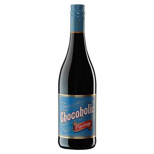 Chocoholic Pinotage 2017, Darling Cellars, Coastal Region, Südafrika Moderne Weinmacher-Kunst par excellence.