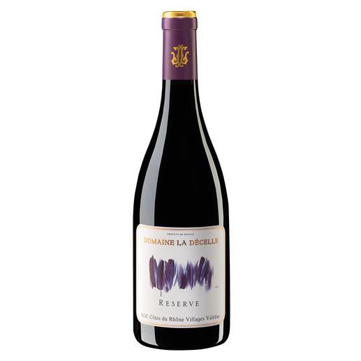 Côtes du Rhône Villages Décelle Reserve 2017, Domaine de la Décelle, Rhône, Frankreich 95 Punkte im Decanter. Nur 13,95 €. (Decanter, Gold bei den World Wine Awards 2019)