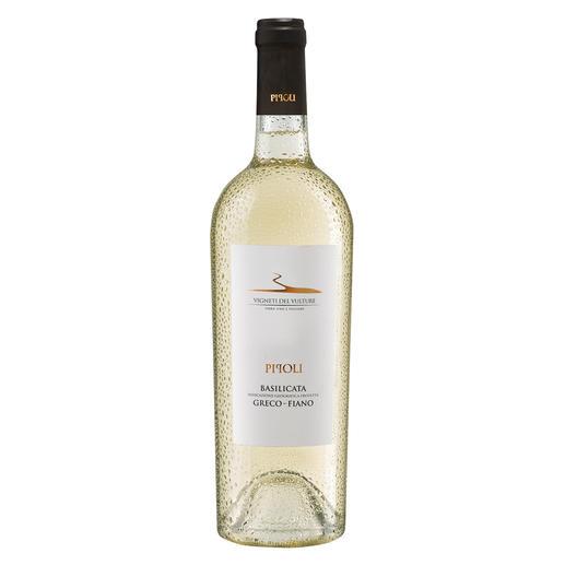 Pipoli 2018, Vigneti del Vulture, Basilikata, Italien Zwei herausragende Weinmacher. Zwei uralte, autochthone Rebsorten. Ein Geheimtipp.