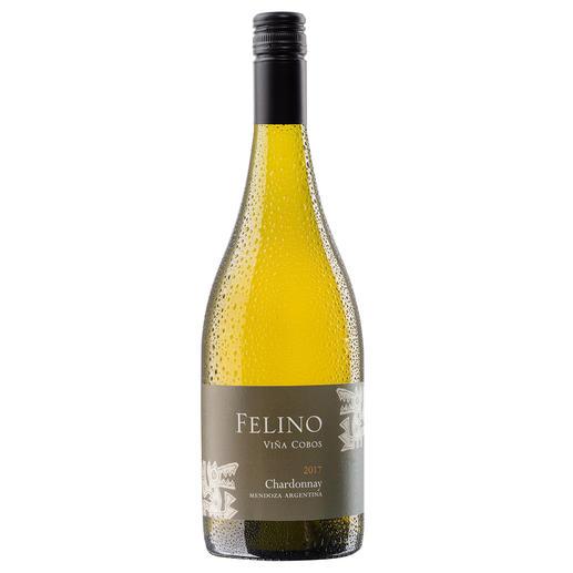 """Felino Chardonnay 2017, Viña Cobos, Mendoza, Argentinien Ein Neue-Welt-Chardonnay wie aus dem Bilderbuch. Von """"einem der brillantesten Weinmacher"""" (Robert Parker, Wine Advocate 180, 12/2008)"""