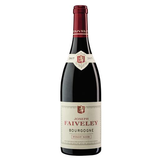 Pinot Noir Faiveley 2017, Bourgogne, Frankreich Seltenheit: ein roter Burgunder, der durch sein Preis-Genuss-Verhältnis überzeugt.