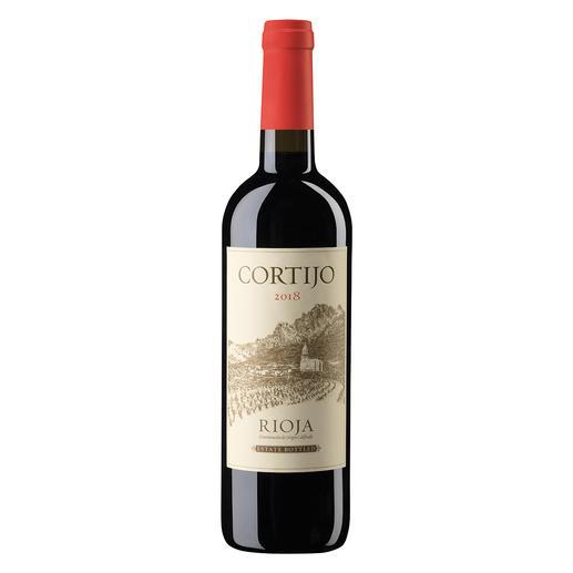 Cortijo Tinto 2018, Cía de Vinos del Atlantico, Rioja, Spanien - Rioja. 90 Punkte von James Suckling. (www.jamessuckling.com, 02.08.2018 über den Jahrgang 2016)