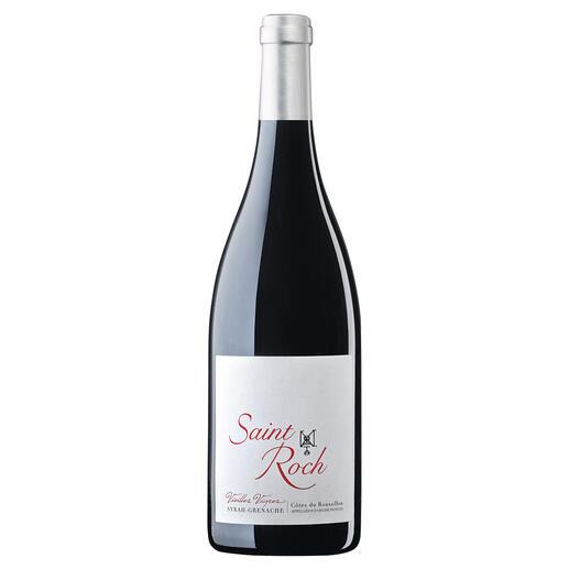 "Saint Roch ""Vieilles Vignes"" 2018, Château Saint Roch, Côtes du Roussillon, Frankreich ""Den sollten Sie kistenweise kaufen."" (Robert Parker, Wine Advocate 224, 03/2016 über den Jahrgang 2015)"