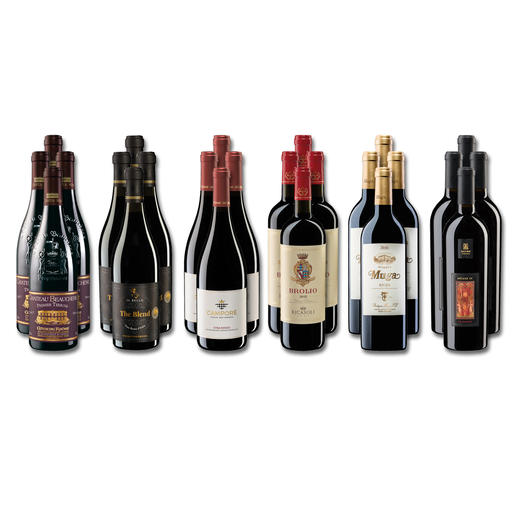 Weinsammlung - Die kleine Rotwein-Sammlung für anspruchsvolle Genießer Herbst 2020, 24 Flaschen Wenn Sie einen kleinen, gut gewählten Weinvorrat anlegen möchten, ist dies jetzt besonders leicht.