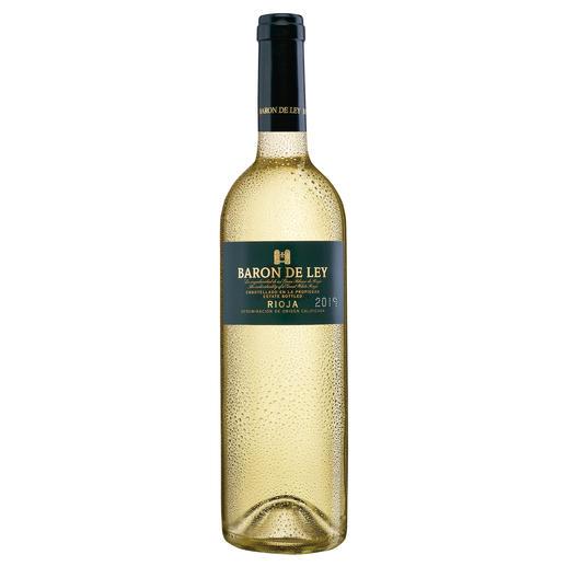 Rioja Blanco 2019, Baron de Ley, Rioja, Spanien Der weiße Rioja: kaum bekannt. Und daher (noch) erfreulich günstig.