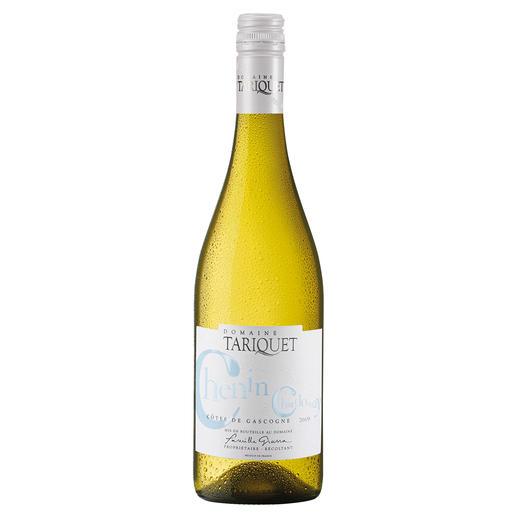 """Chenin-Chardonnay 2019, Côtes de Gascogne, Frankreich """"Der beste Weißwein aus Frankreich."""" (Von mehr als 50 französichen Weißweinen, Mundus Vini Frühjahrsverkostung 2014, www.mundusvini.com über den Jahrgang 2013)"""