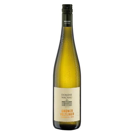 """Grüner Veltliner Federspiel """"Terrassen"""" 2019, Domäne Wachau, Österreich Der Weißwein des Jahres aus Österreich. (Weinwirtschaft 01/2009)"""