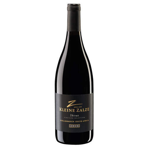 "Kleine Zalze Shiraz 2017, Kleine Zalze, Stellenbosch, Südafrika Der neueste Coup vom dreifachen ""New World Producer of the Year."" (www.sommelierwineawards.com, New World Producer of the Year, 2019, 2018, 2015)"