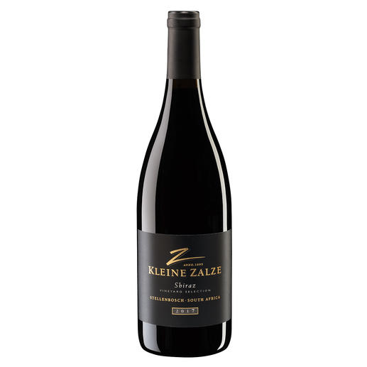 "Kleine Zalze Shiraz 2017, Kleine Zalze, Stellenbosch, Südafrika - Der neueste Coup vom dreifachen ""New World Producer of the Year."" (www.sommelierwineawards.com, New World Producer of the Year, 2019, 2018, 2015)"