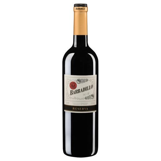 "Barbadillo Reserva 2014, Bodegas Pirineos, Somontano, Spanien Der ""beste Rotwein Spaniens"". Unter 549 (!) Konkurrenten. (Mundus Vini Sommerverkostung 2016 über den Jahrgang 2011, www.mundusvini.com)"