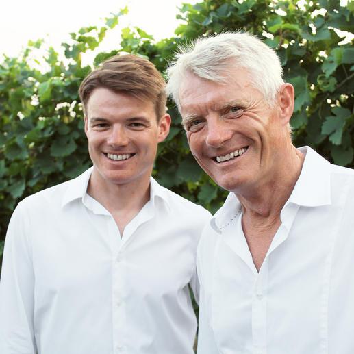 Weinmacher Roman Josef Pfaffl und Roman Pfaffl Senior