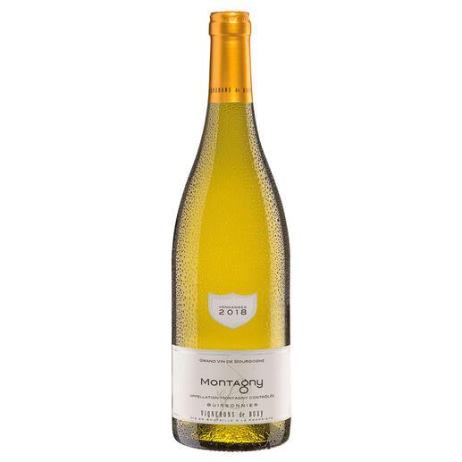 Bourgogne Montagny 2018, Vignerons de Buxy, Burgund, Frankreich Der Weißwein des Jahres aus Frankreich. (Weinwirtschaft 01/2018)