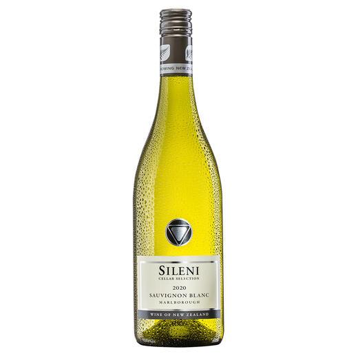 Sileni Sauvignon Blanc 2020, Sileni Estate, Marlborough, Neuseeland Der beste Weißwein aus Neuseeland. Unter mehr als 70 (!) Konkurrenten. (Mundus Vini 2013, www.mundusvini.com)