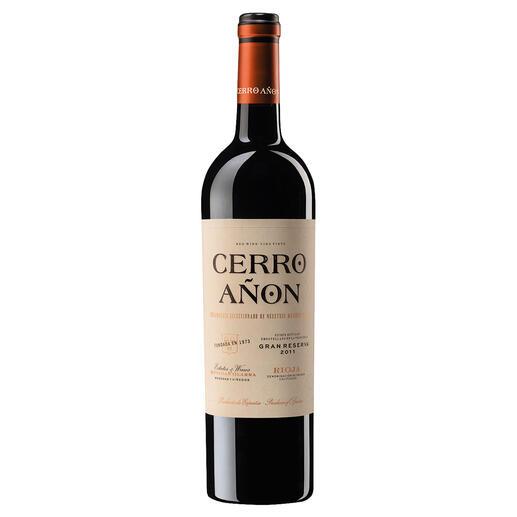 Cerro Añon Gran Reserva 2011, Bodegas Olarra, Rioja, Spanien Die beste Gran Reserva.  Unter 70 weltweit renommierten Konkurrenten. (Decanter Magazin März 2019 über den Jahrgang 2010)