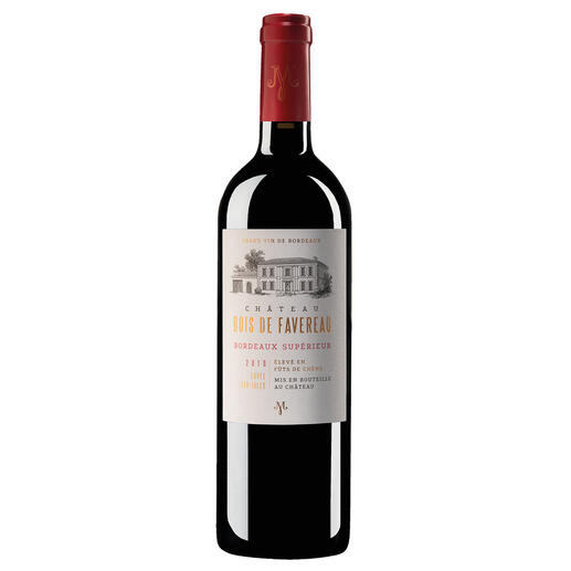 Château Bois de Favereau 2018, Bordeaux Supérieur, Frankreich Endlich ein samtweicher, sofort trinkreifer (und erfreulich preiswerter) Bordeaux.