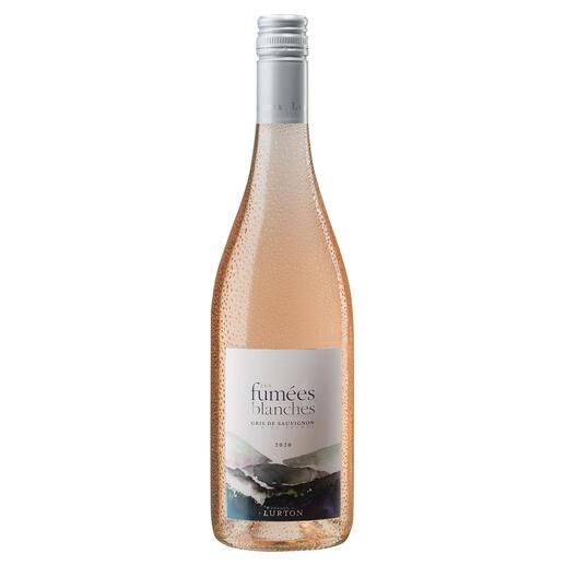 Fumées Blanches Rosé 2020, François Lurton, Côtes de Gascogne, Frankreich Rosé aus einer Weißwein-Traube? Warum Sie den neuesten Coup von François Lurton probieren sollten.