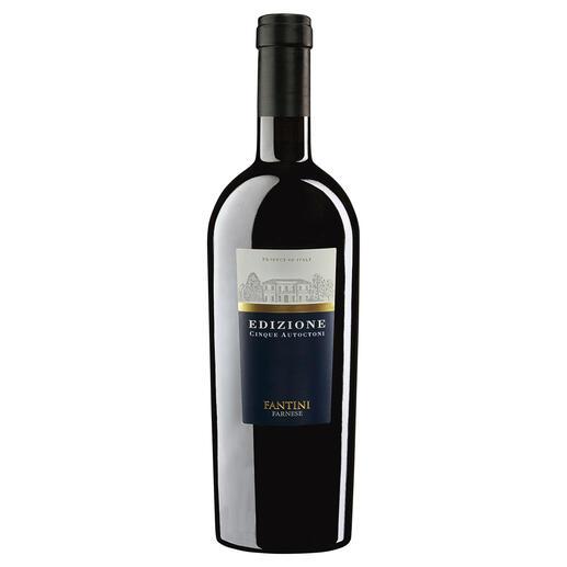 "Cinque Autoctoni 2018, Fantini, Abruzzen, Italien ""Bester Rotwein Italiens."" (Luca Maroni über die Edition 17, Annuario dei Migliori Vini Italiani 2018)"