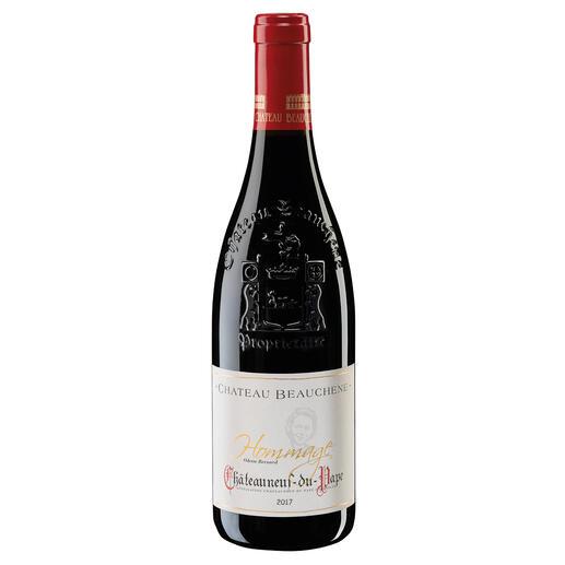 Châteauneuf du Pape Hommage 2017, Château Beauchêne, Rhône, Frankreich Nur in den besten Jahrgängen. Und nur 3.850 Flaschen.