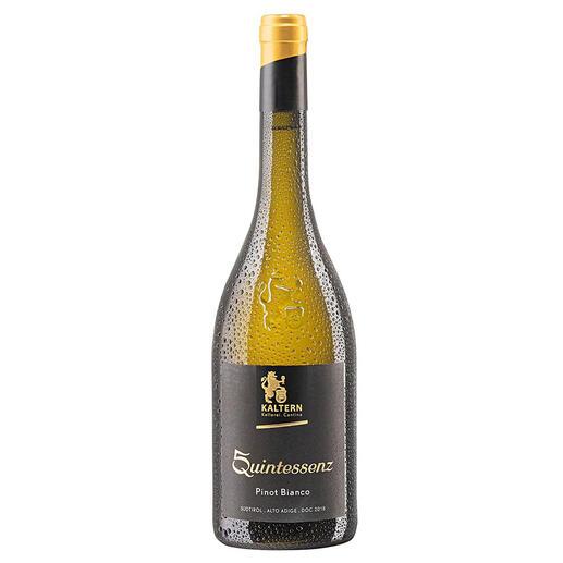 Pinot Bianco Quintessenz 2018, Cantina Kaltern, Alto Adige DOC, Italien Seltenheit: 95+ Parker-Punkte für einen Weißburgunder. (www.robertparker.com, The Wine Advocate 17.09.2020)
