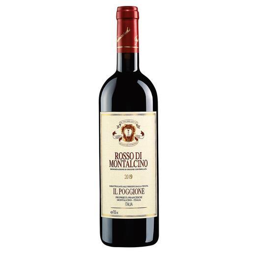 Rosso Poggione 2019, Tenuta Il Poggione, Toskana, Italien In einigen Jahren wird der Wein von diesen Reben deutlich mehr als das Doppelte kosten.