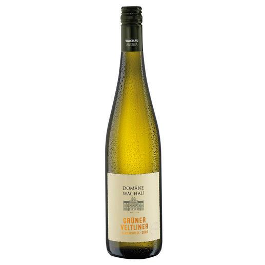 """Grüner Veltliner Federspiel """"Terrassen"""" 2020, Domäne Wachau, Österreich Der Weißwein des Jahres aus Österreich. (Weinwirtschaft 01/2009)"""