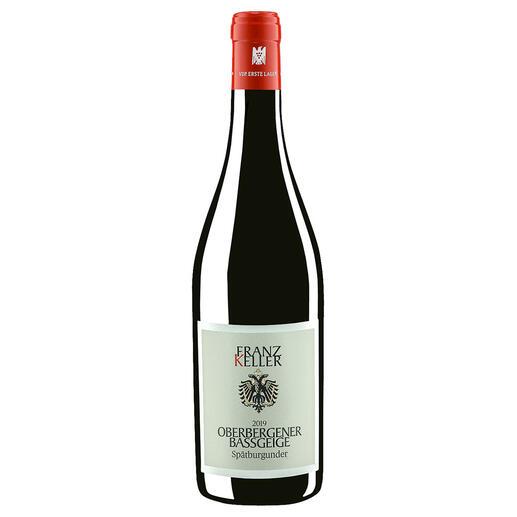 Spätburgunder Oberbergener Bassgeige 2019, Franz Keller, Baden, Deutschland Der Rotwein des Jahres aus Deutschland. (Weinwirtschaft Ausgabe 1/2021)