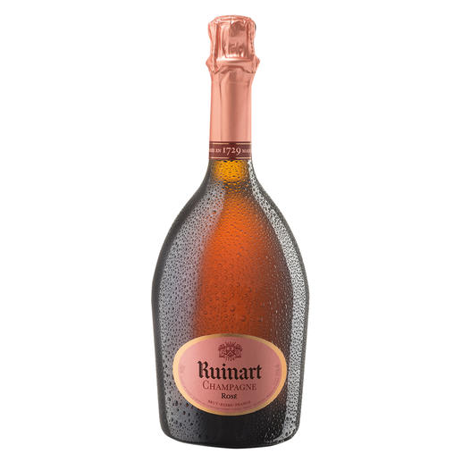 Rosé-Champagne Ruinart Brut, Reims, Champagne, Frankreich Rosé Brut – die Spezialität des ältesten Champagnerhauses.