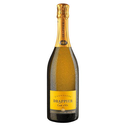 Champagne Drappier Brut Carte d'Or, Champagne, Reims, Frankreich Insidertipp. Der klassisch, kraftvolle Champagner.