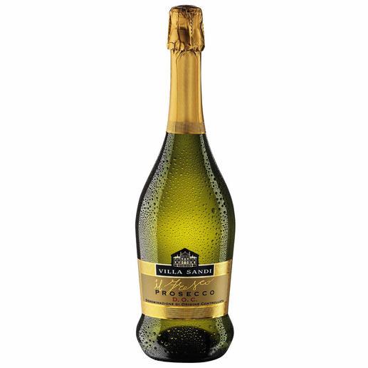 """Prosecco DOC Brut """"il Fresco"""", Villa Sandi, Venetien, Italien - Zehnmal (!) in Folge """"Prosecco des Jahres"""". (Weinwirtschaft 2006 bis 2015, jeweils Ausgabe 1 des Folgejahres)"""