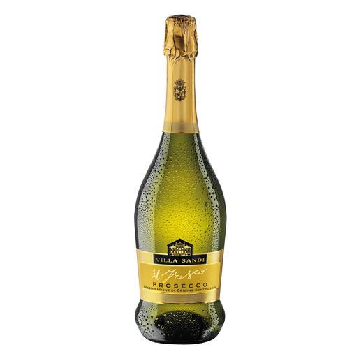 """Prosecco Brut """"il Fresco"""", Villa Sandi, Venetien, Italien - Dreizehnmal (!) in Folge """"Prosecco des Jahres"""". (Weinwirtschaft 2006 bis 2018, jeweils Ausgabe 1 des Folgejahres)"""
