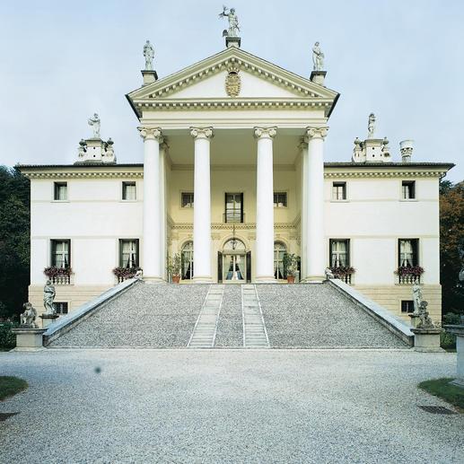 Die Villa Sandi.
