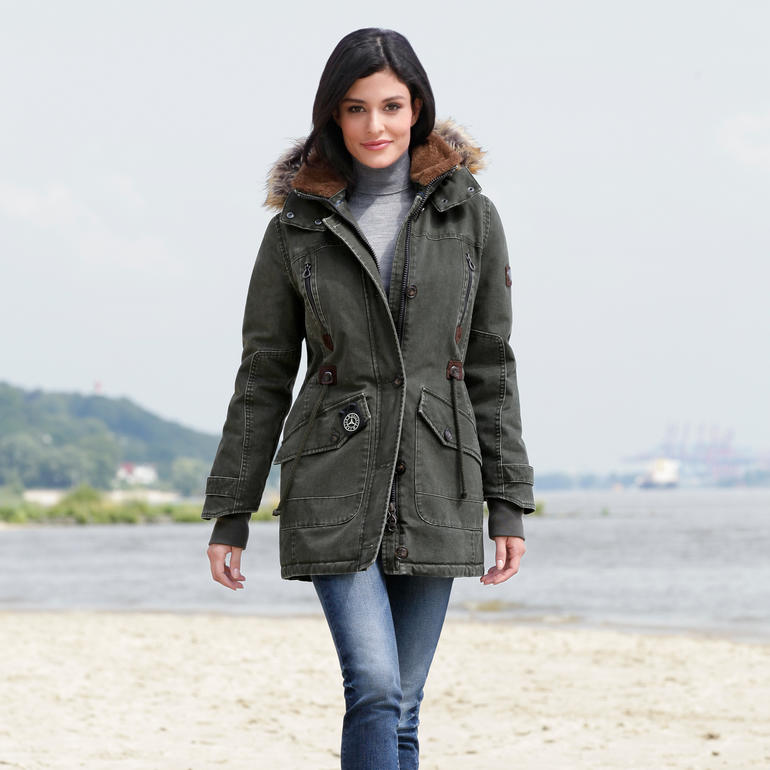 Sailors & Brides Damen Allwetter Parka entdecken