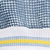 Eisblau/Weiß/Gelb