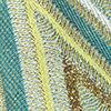 Aqua/Grün/Gelb/Beige/Bronze/Weiß