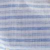 Bleu/Weiß gestreift
