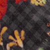 Wonderfield Grey Fleece,  Grau kariert/geblümt