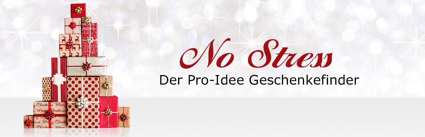 Geschenkefinder - besondere Geschenke & Geschenkideen bei Pro-Idee